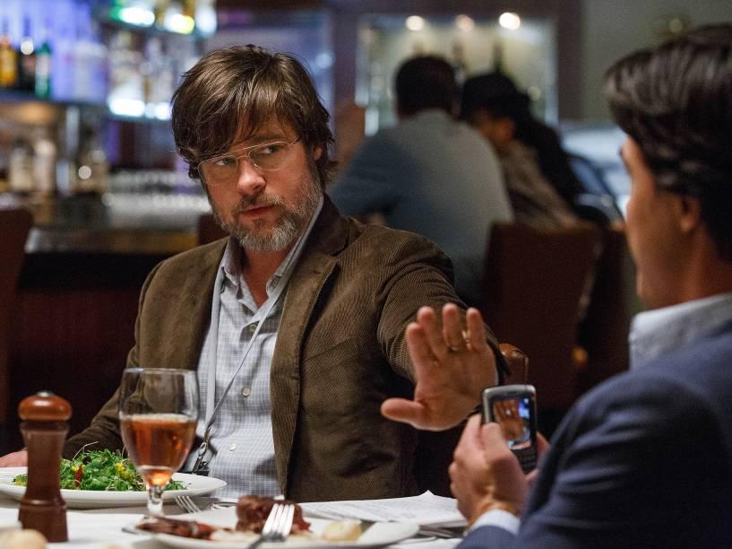 Dirigido por Adam McKay, 'A Grande Aposta' traz Brad Pitt como Bem Rickert, um veterano de Wall Street