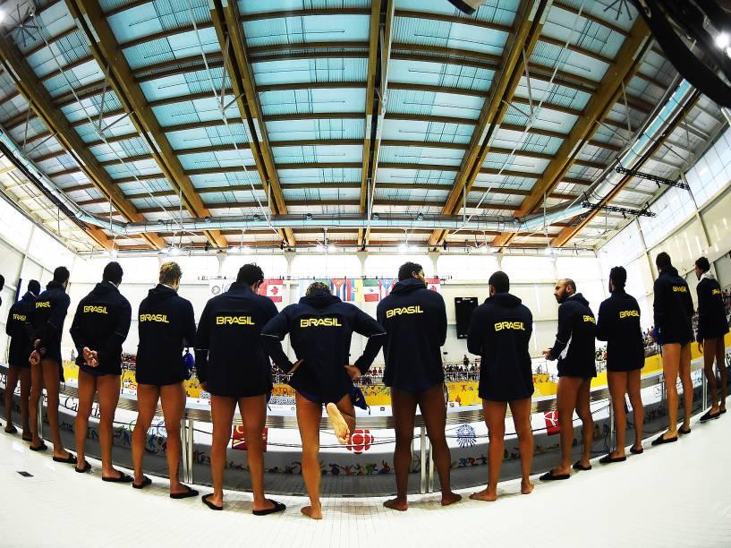 A seleção brasileira de polo aquático ficou com a prata após ser superada pelos Estados Unidos na final dos Jogos Pan-Americanos de Toronto