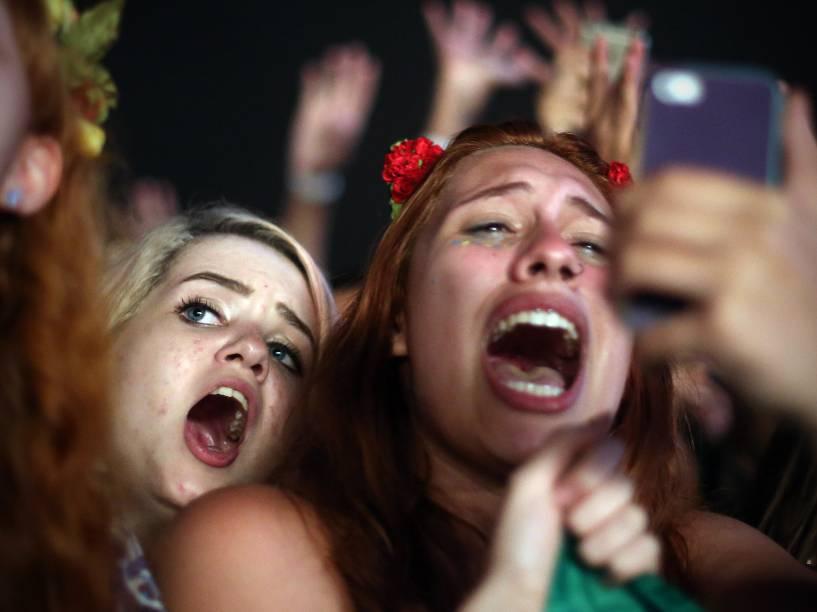 Público da banda Florence and The Machine no segundo dia do Festival Lollapalooza Brasil 2016