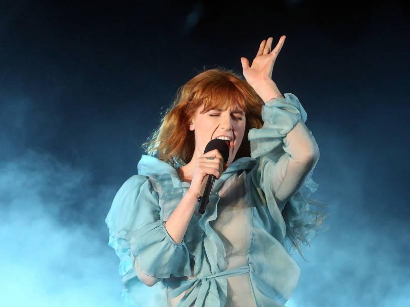 Florence and The Machine no segundo dia do Festival Lollapalooza Brasil 2016