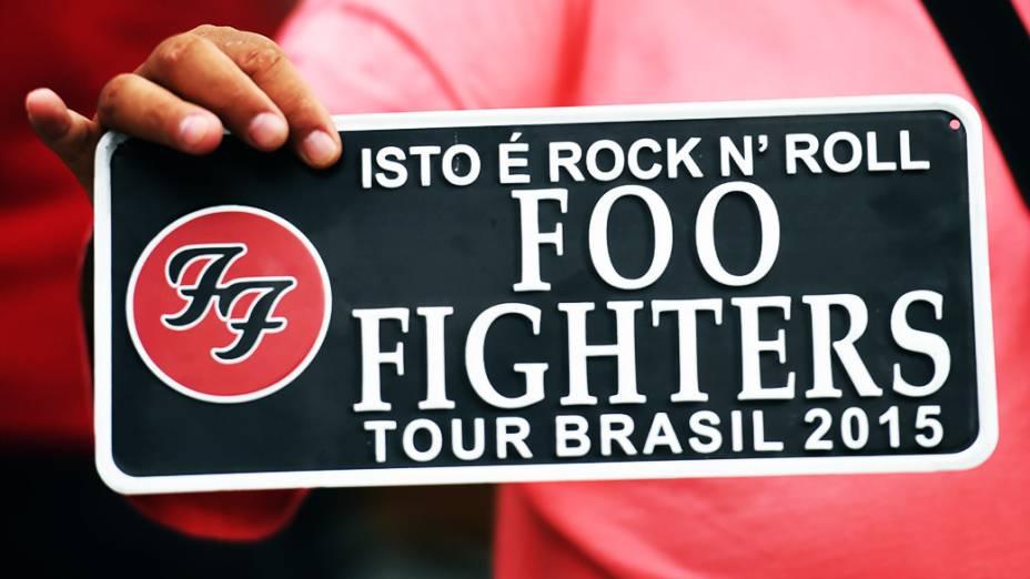 A banda Foo Fighters vem ao Brasil pela terceira vez e se apresenta na turnê do disco Sonic Highways