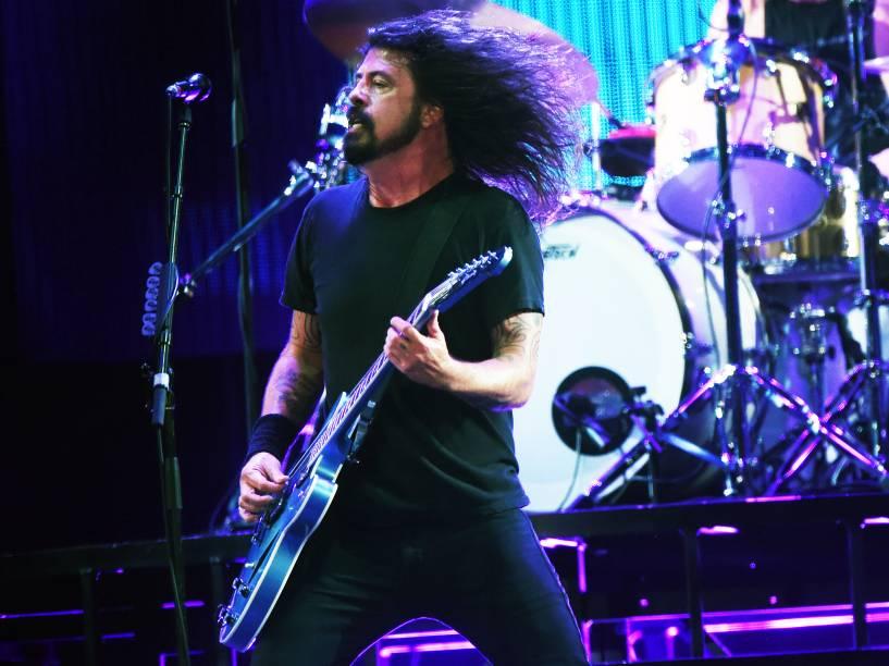 Show do Foo Fighters nesta sexta feira (23), no Estádio do Morumbi, Zona Sul da Capital. A apresentação é para a divulgação do novo álbun, Sonic Highways, o grupo fará 4 apresentações no Brasil