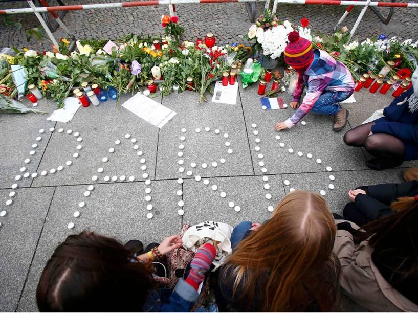 Homenagens em Berlim, na Alemanha