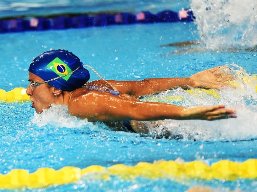 Equipe do revezamento 4x200 livre feminino conquista a prata nos Jogos Pan-Americanos de Toronto
