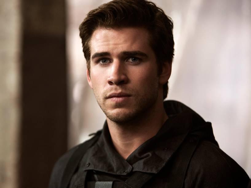 Liam Hemsworth como Gale Hawthorne em Jogos Vorazes: A Esperança - Parte I