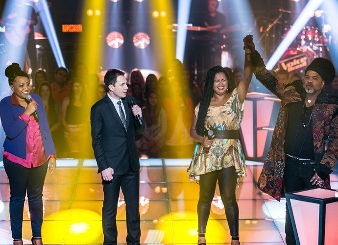 Selma Fernands e Gau Silva, candidatas do The Voice Brasil