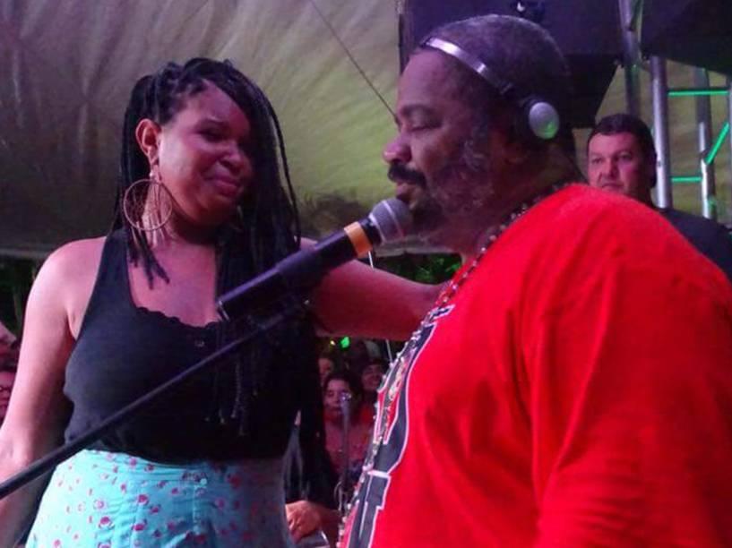 Gau Silva, participante do The Voice Brasil, já dividiu o palco com Arlindo Cruz
