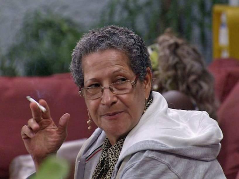 A aposentada Geralda no BBB16