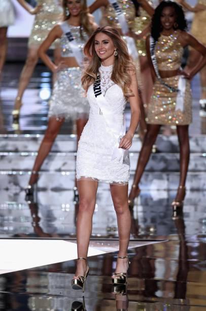 A brasileira Marthina Brandt participou do Miss Universo 2015 e ficou entre as 15 finalistas