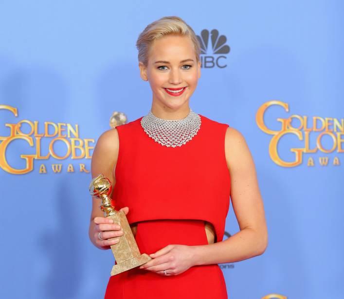 Jennifer Lawrence recebeu prêmio pela atuação em Joy: O nome do sucesso