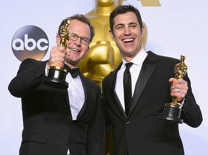 O melhor filme spotlight do Oscar 2016 no Teatro Dolby, em Los Angeles