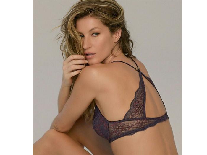 Gisele Bündchen lança coleção de lingerie em homenagem aos 20 anos de carreira