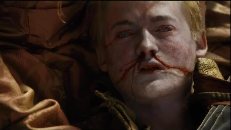Morte do Rei Joffrey no segundo episódio da quarta temporada de Game of Thrones