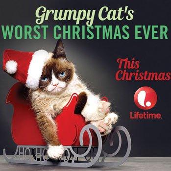 <p>Foto do filme Grumpy Cats Worst Christmas Ever</p>