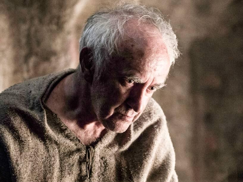 Jonathan Pryce (the High Sparrow), em cena da sexta temporada da série Game Of Thrones