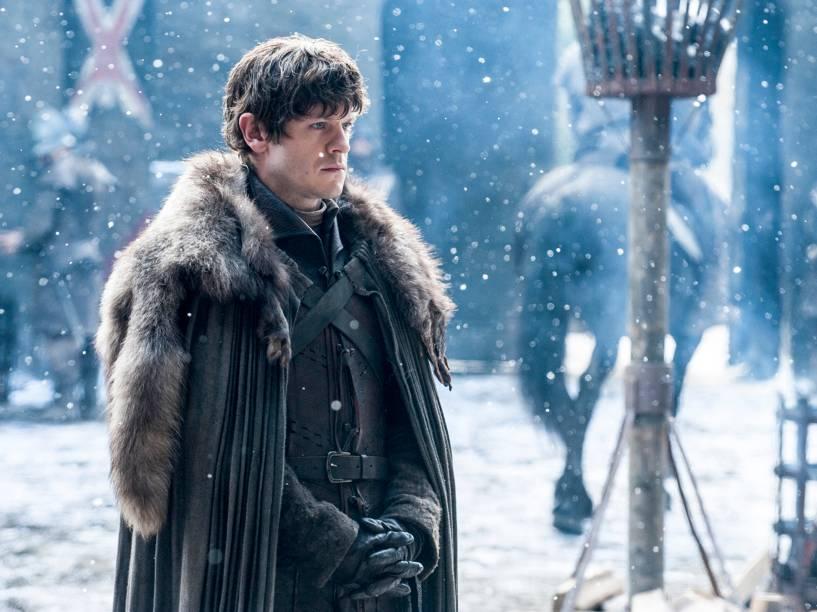 Iwan Rheon (Ramsay Bolton), em cena da sexta temporada da série Game of Thrones