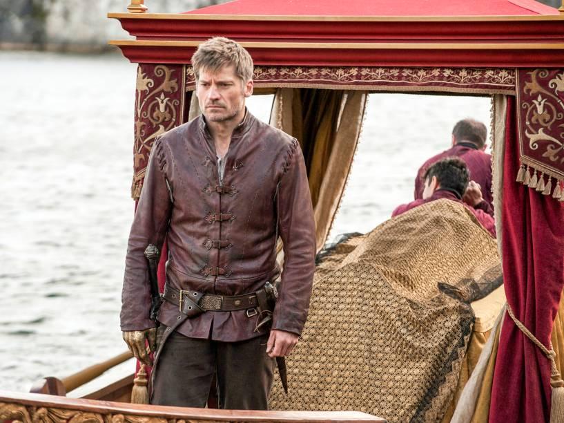 Nikolaj Coster-Waldau (Jaime Lannister), em cena da sexta temporada da série Game of Thrones