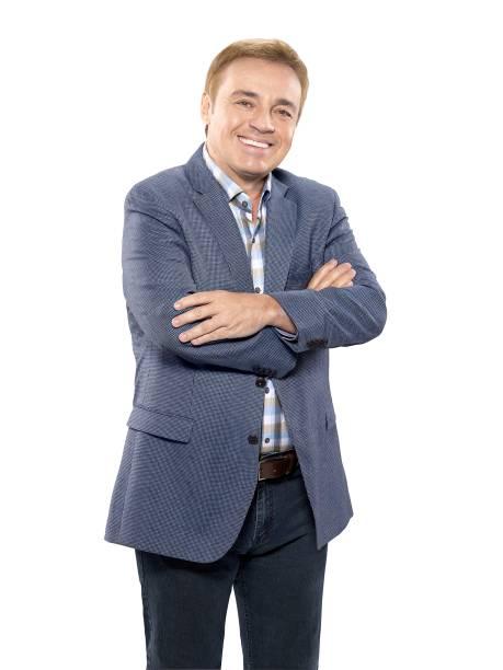 O apresentador Gugu Liberato, que está de volta à Record