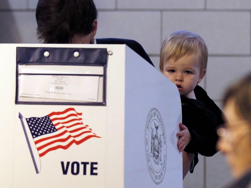 Votação de primárias em Nova York - 19/4/2016