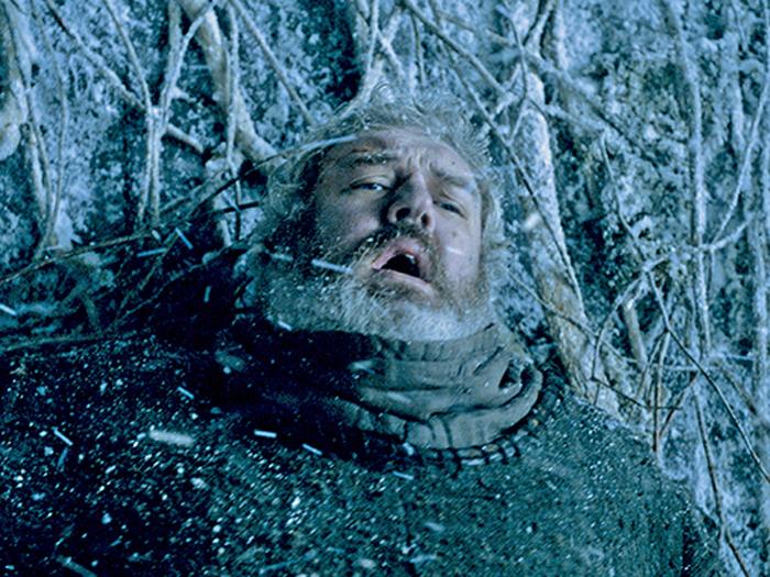 Hodor (Kristian Nairn) em cena da sexta temporada de Game of Thrones