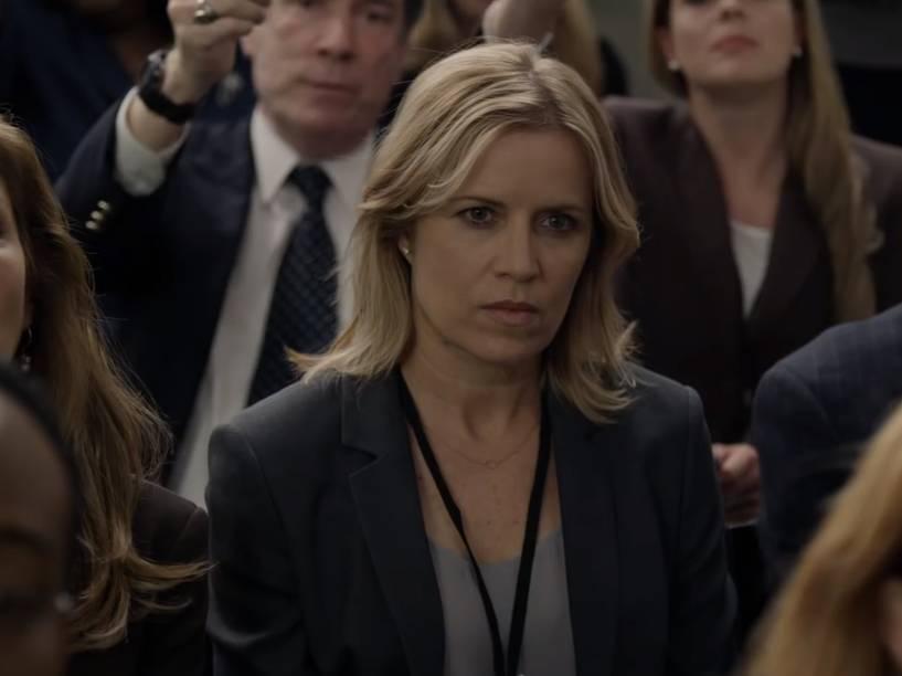 Kate Baldwin (Kim Dickens) em cena da quarta temporada da série produzida pelo Netflix, House of Cards