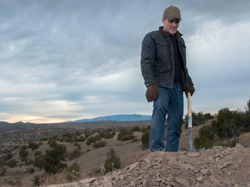Doug Stamp (Michael Kelly) em cena da quarta temporada da série produzida pelo Netflix, House of Cards
