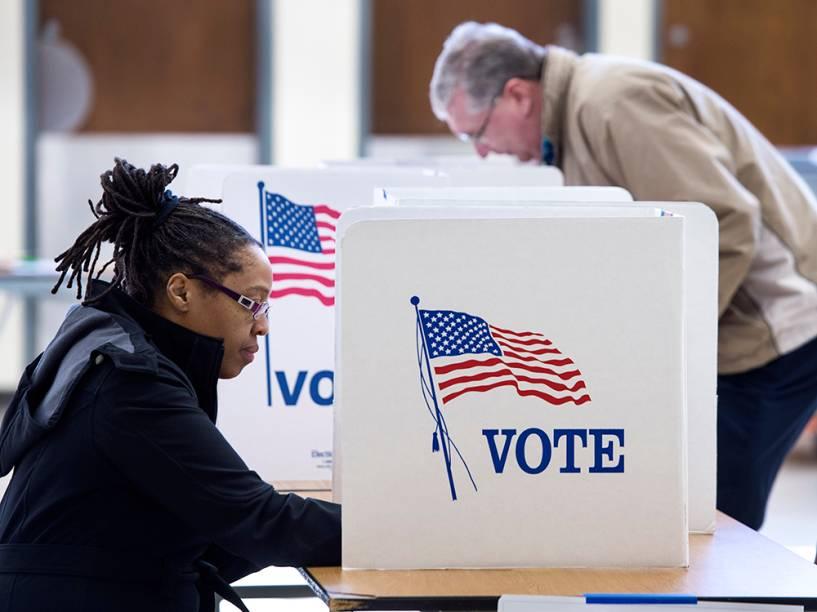 Treze estados e um território norte-americano realizam prévias eleitorais na Super terça