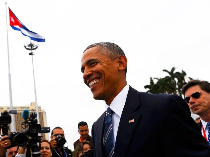 Presidente dos Estados Unidos, Barack Obama, realiza visita histórica à Cuba