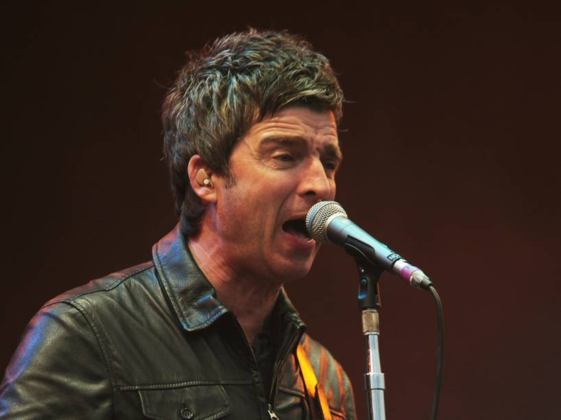 Noel Gallaghers High Flying Birds, banda do ex-integrante da banda Oasis, se apresenta no segundo dia do Festival Lollapalooza 2016