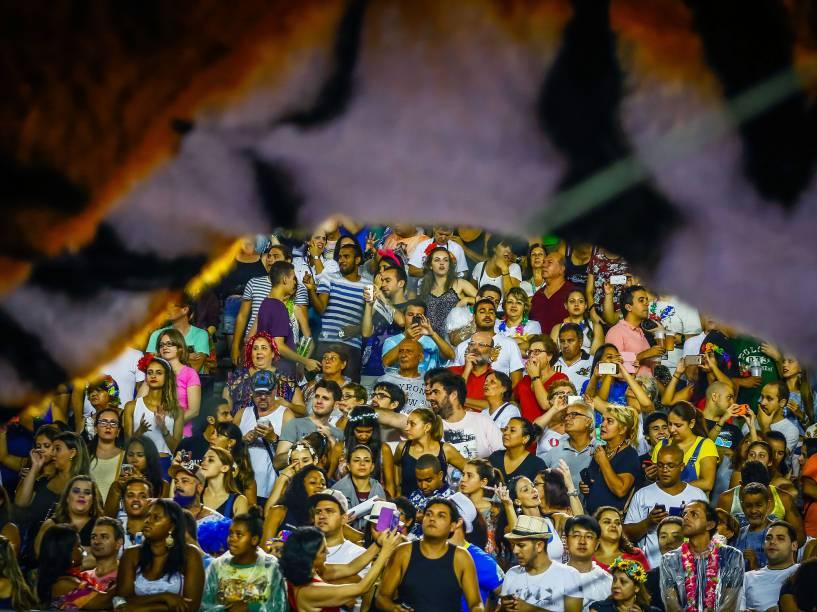 Desfile da Escola de Samba Império de Casa Verde válida pelo Grupo Especial, no Sambódromo do Anhembi em São Paulo (SP), neste sábado (06)