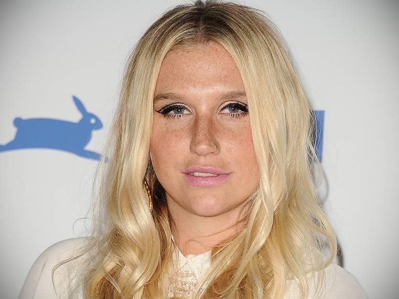 A cantora Kesha