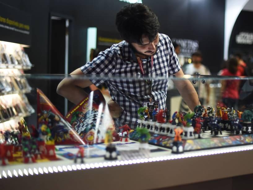 Comic Con Experience, maior feira de cultura pop, games e quadrinhos do mundo que está sendo realizada na São Paulo Expo