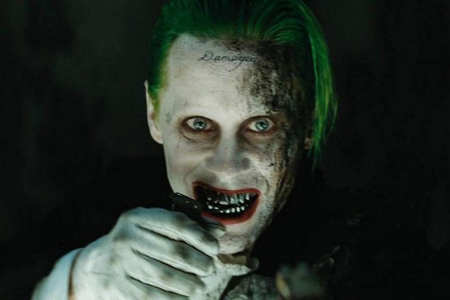 Jared Leto como Coringa no filme Esquadrão Suicida