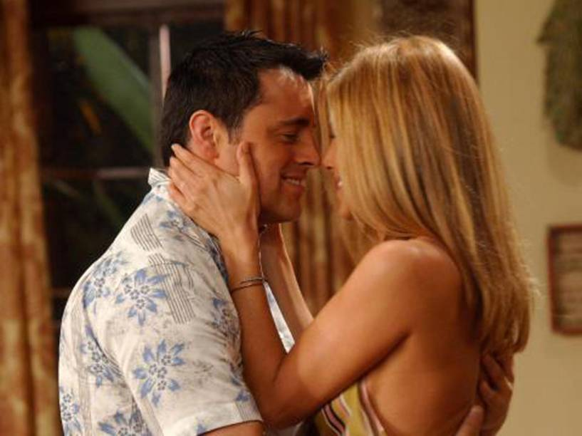 Matt LeBlanc e Jennifer Aniston em cena de 'Friends'
