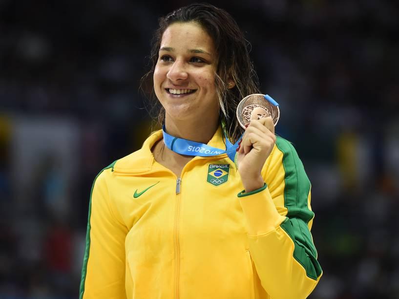 Joanna Maranhão conquista o bronze nos 200m borboleta nos Jogos Pan-Americanos de Toronto, no Canadá