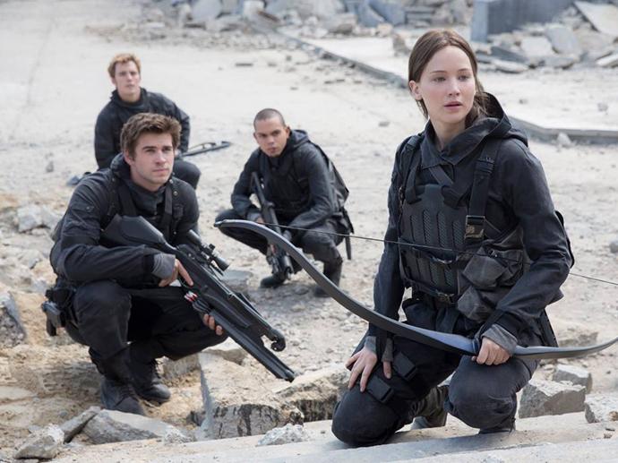 Jennifer Lawrence divulga primeira foto do filme Jogos Vorazes: A Esperança - O Final