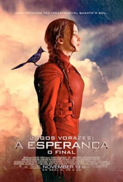"""Último poster divulgado do novo filme de Jogos Vorazes"""""""