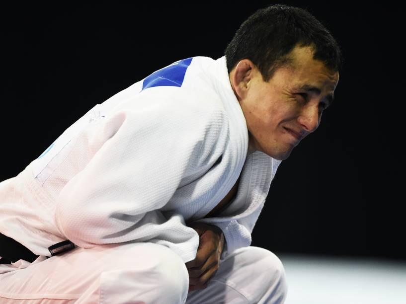 Felipe Kitadai conquistou a prata na categoria até 60Kg nos Jogos Pan-Americanos de Toronto, no Canadá