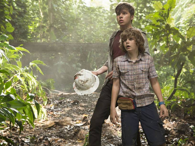 Os personagens Zach e Gray Mitchell são parte do elenco principal de Jurassic World