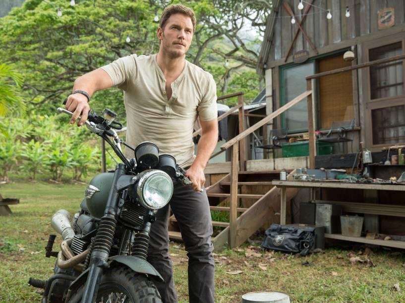 <p>Chris Pratt, o Senhor das Estrelas de Guardiões da Galáxia, interpreta Owen, protagonista do filme</p>