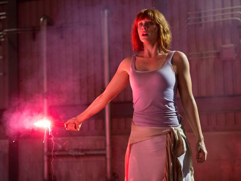 <p>Bryce Dallas Howard, a Gwen Stacy de Homem-Aranha 3, é Claire Dearing </p>