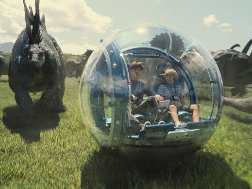 <p>Pela primeira vez na franquia, o Parque dos Dinossauros está aberto ao público</p>