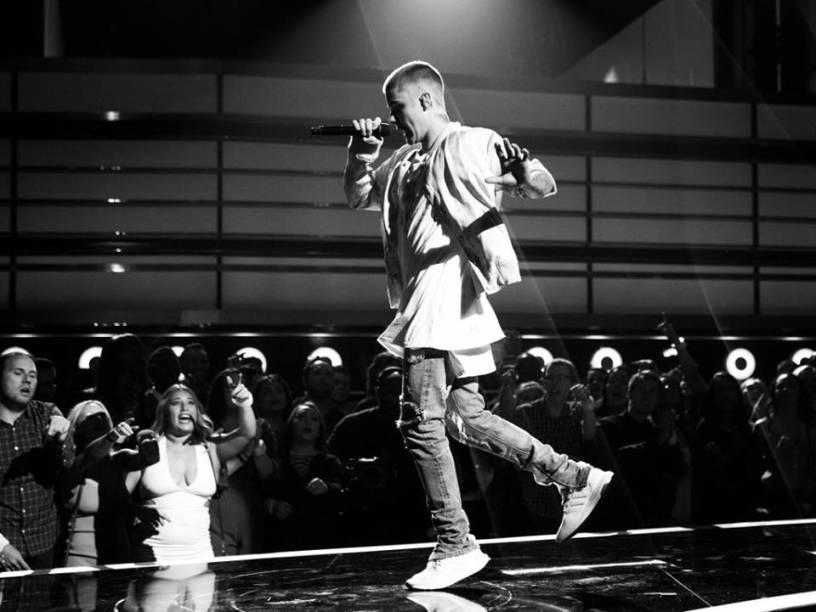 Justin Bieber foi um dos destaques da noite, no Billboard Music Awards