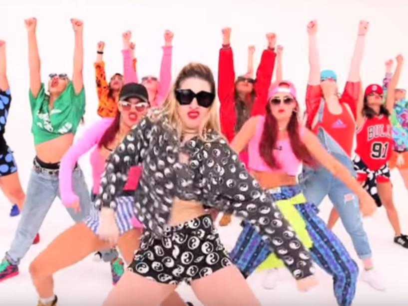 Dançarinas no vídeo de Sorry, novo single de Justin Bieber