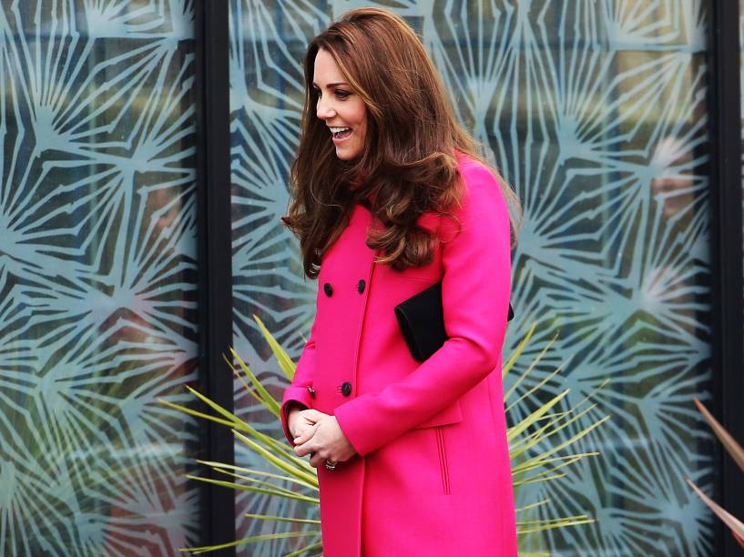 Kate Middleton, a duquesa de Cambridge à espera de seu segundo filho com o príncipe William