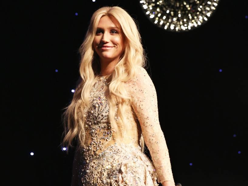 A cantora pop Kesha