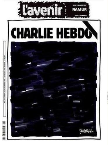 Jornal LAvenir também presta homenagem às vítimas do atentado na edição desta quinta-feira