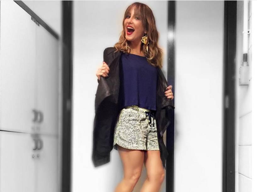 Look usado por Claudia Leitte no primeiro dia das audições às cegas, do The Voice Brasil 2015