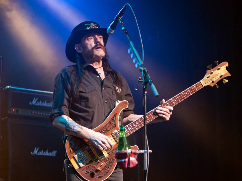 <p>O vocalista do Motörhead, Lemmy Kilmister</p>