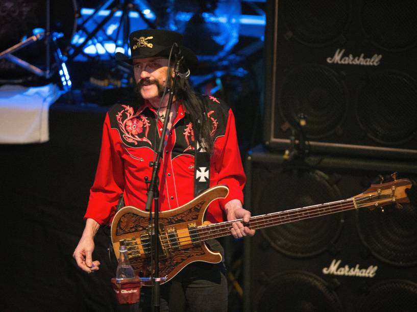 <p>O vocalista do Motörhead, Lemmy Kilmister    </p>